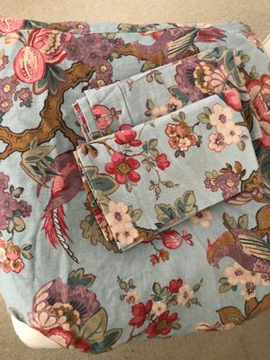 Pottery Barn Duvet and Pillowcases for Sale in Apex, NC