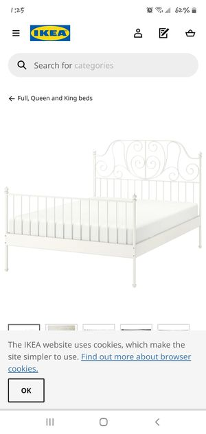Metal Bed Frame ( Queen) for Sale in Long Beach, CA