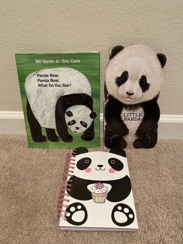 Kid's Panda Hardcover books