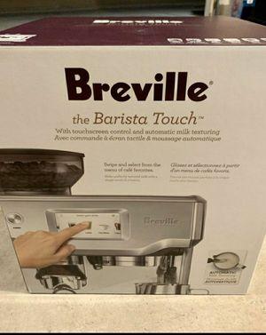 Breville Barista Touch espresso maker, coffee maker, moving, William Sonoma, coffee for Sale in Long Beach, CA