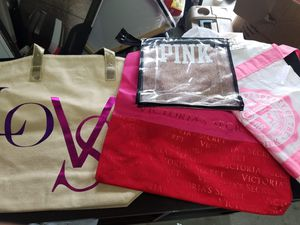 Lot of 4 new Victoria's secret bags purses totes for Sale in Davenport, FL