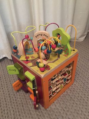 Zany Zoo activity cube for Sale in Seattle, WA