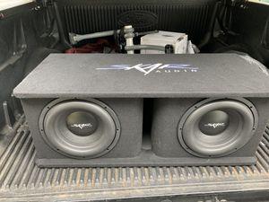 Skar audio subwoofer and amp for Sale in Tampa, FL