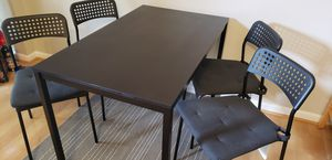 Kitchen table with 4 chairs (ikea) for Sale in Ashburn, VA