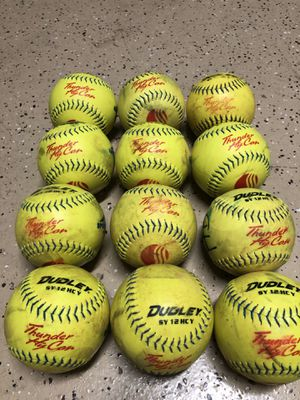 DUDLEY THUNDER HYCON SY USSSA .52 275 SLOWPITCH SOFTBALL for Sale in San Diego, CA