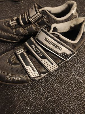 Shimano M075 bike shoes spd for Sale in Houston, TX
