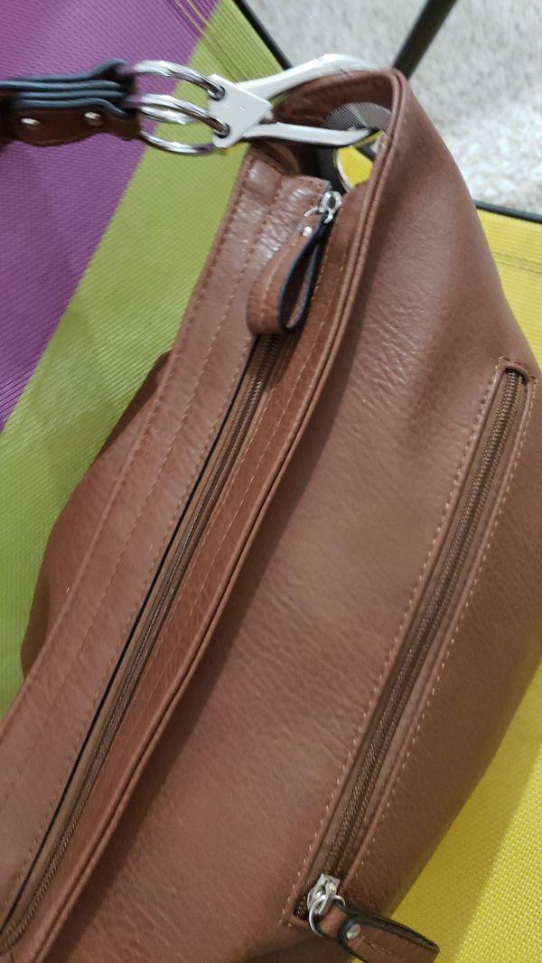 HoBo Luxury brown purse large inside