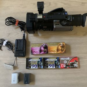 Panasonic AG-DVX100A 3CCD Professional Camcorder Video Camera with MANY EXTRAS for Sale in Lake Forest, CA