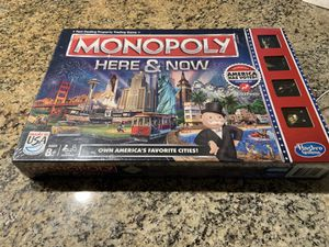 Monopoly board game here and now new for Sale in La Mesa, CA