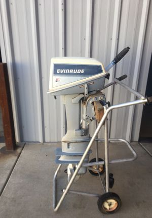 Evinrude 8hp Long Shaft Outboard Boat Motor for Sale in Phoenix, AZ