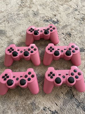 ps3 controller 5 count for Sale in Sugar Land, TX