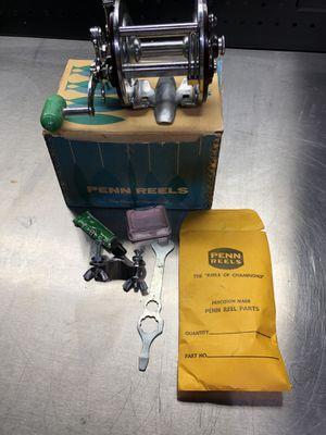Penn 209M PEER MONOFIL LEVEL WIND Metal Spool Fishing Reel in Box With Extras for Sale in La Habra, CA