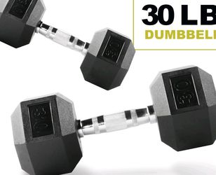 NEW Weider 30lbs Dumbbell weight set (60lbs total) for Sale in San Lorenzo,  CA