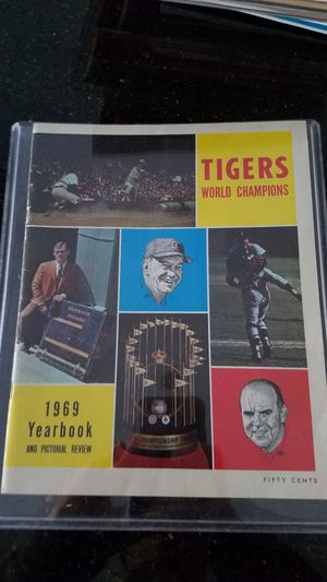 Detroit Tigers 1969 yearbook for Sale in Grosse Pointe, MI