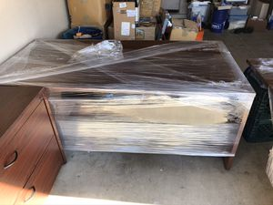 Office furniture. Desk/credenza and 2 drawer lateral file for Sale in Gilbert, AZ