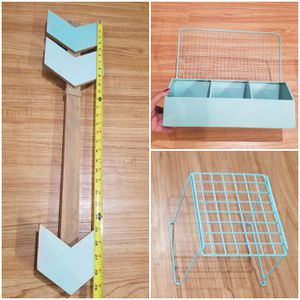 Teal color home decoration......3x14.00......manteca for Sale in Manteca, CA