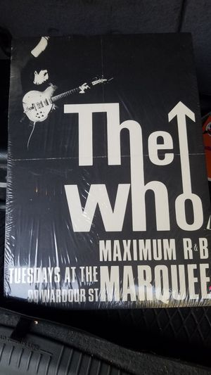 The Who posterboard for Sale in Aurora, CO
