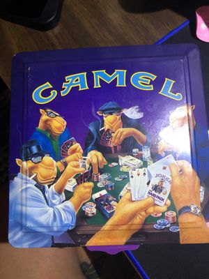 Camel Poker Chip Set for Sale in Lakeland, FL