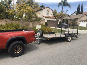 JV Customs 14x7 utility trailer for Sale in San Diego, CA