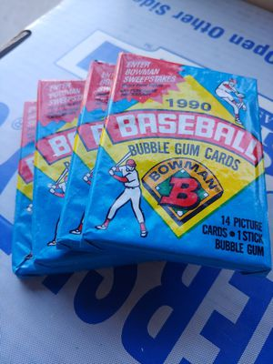 1990 Sealed New BOWMAN BASEBALL CARDS for Sale in Fresno, CA