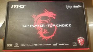 MSI GAMING LAPTOP for Sale in Chicago, IL