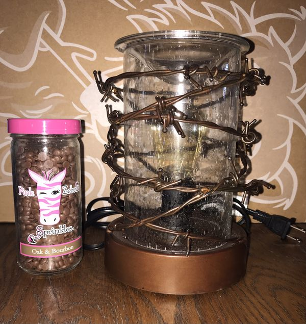 Scentsy Warmer (Rustic Ranch) with Wax Sprinkles