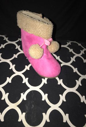 Pink baby girl boots for Sale in Hesperia, CA