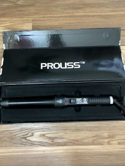 Proliss Tourmaline Ceramic Curling Wand - New In Box for Sale in Katy,  TX