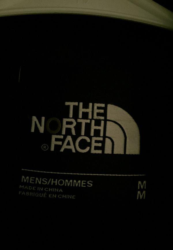 North face fur hoodie winter jacket