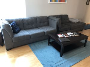 Couch, coffee table, and end tables for Sale in Chicago, IL