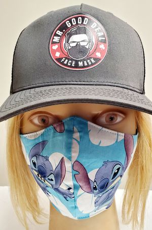 LILO AND STITCH FACE MASK (ADULT SIZE) for Sale in Norwalk, CA