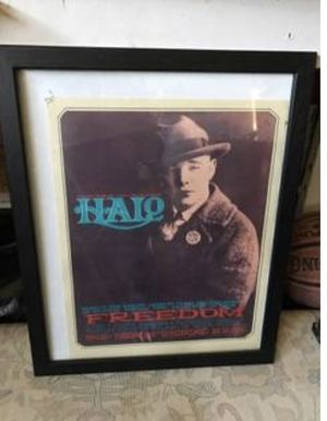 Vintage Halo Freedom Concert Poster for Sale in Carlsbad, CA