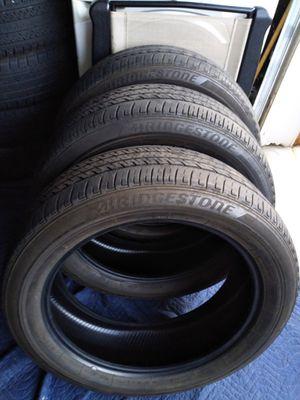 235/55/20 Bridgestone only 3 for Sale in Lawrenceville, GA