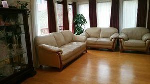 Sofa and dining table set for Sale in Springfield, VA