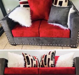 New Sofa + Loveseat Nailheads for Sale in Houston,  TX