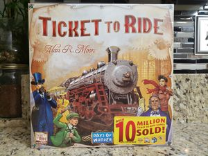 Ticket to Ride: Board Game *SEALED /UNOPENED* for Sale in Riverside, CA