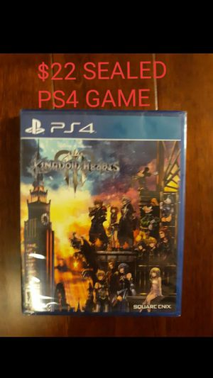 Ps4 game sealed brand new Disney Kingdom Hearts 3 for Sale in Arlington Heights, IL