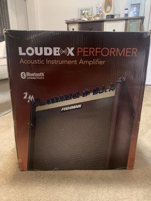Fishman Loudbox Performer Guitar Acoustic Instrument Amplifier NEW for Sale in Gilroy, CA