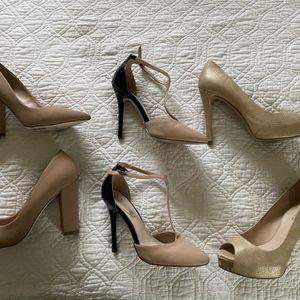 5 Size 7 Heels for Sale in Lynnwood, WA