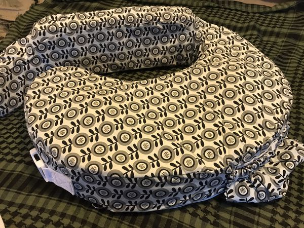 My Breast Friend nursing posture pillow and slipcover