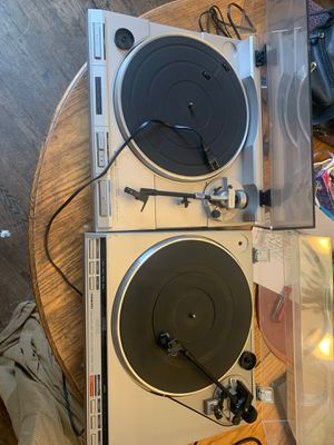 Lot of 2 Turntables For Parts/Repair Pioneer PL-S70 Onkyo CP-1044f for Sale in Lake Angelus, MI