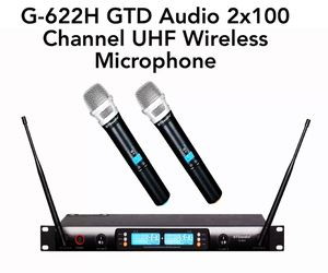 G-622H GTD Audio 2x100 Channel UHF Wireless Microphone for Sale for sale  Queens, NY
