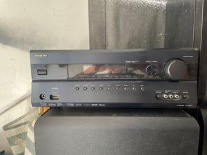 Onkyo receiver TX-SR607 for Sale in Anaheim, CA
