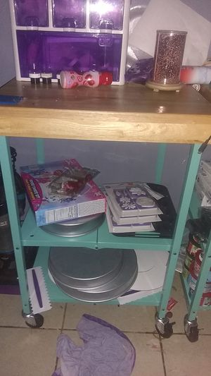 Kitchen caddy very nice almost new items sold separately for Sale in Sanger, CA