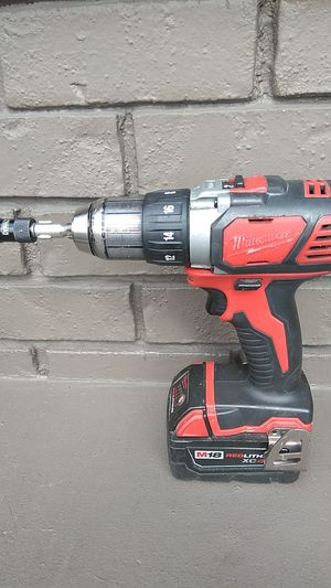 """Milwaukee 1/2"""" Drill Driver w/M18 Red Lithium XC Battery for Sale in Auburn, WA"""