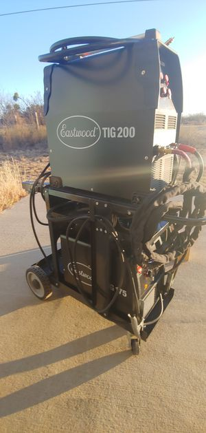 Eastwood tig, mig, cart & acessories for Sale in San Angelo, TX