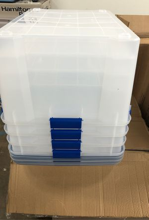Storage Containers 60 QT (set of 4) for Sale in Irving, TX