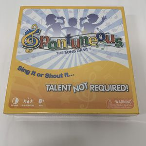 Spontuneous - The Song Game for Sale in Bensalem, PA