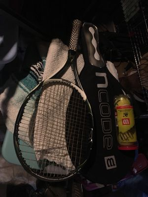Titanium racket with tennis balls for Sale in Chicago, IL