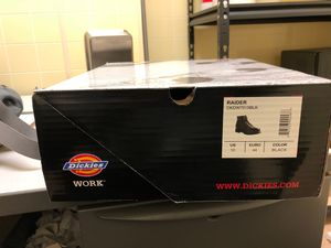 Dickies black work boots for Sale in North Bergen, NJ